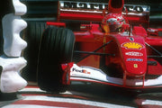 2000 Michael Schumacher Ferrari ignition ramp - Formula 1 Memorabilia