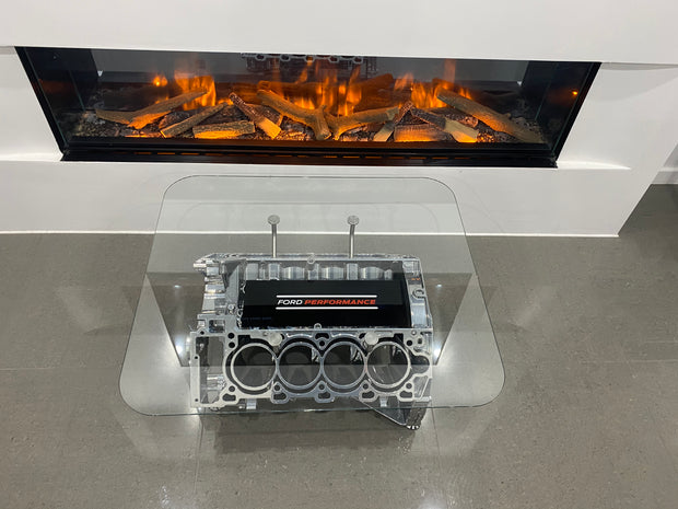 Ford Performance V8 Engine Block Coffee Table