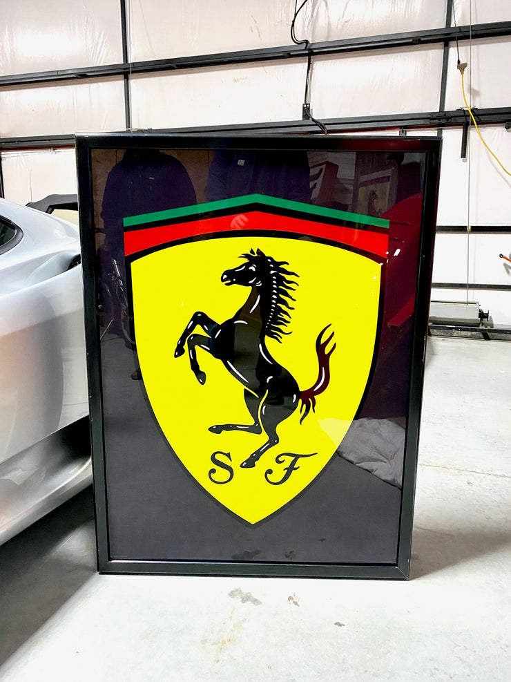 1990's Ferrari official dealer sign