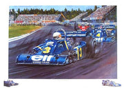 Jody and the six wheeler by Nicholas Watts - Formula 1 Memorabilia