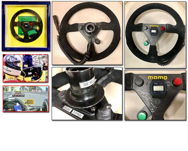 1992 Michael Schumacher race used steering wheel - Formula 1 Memorabilia