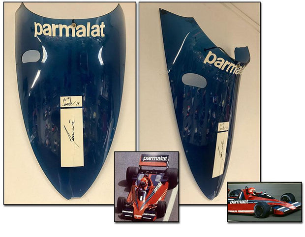 1978 Niki Lauda wind screen signed - Formula 1 Memorabilia