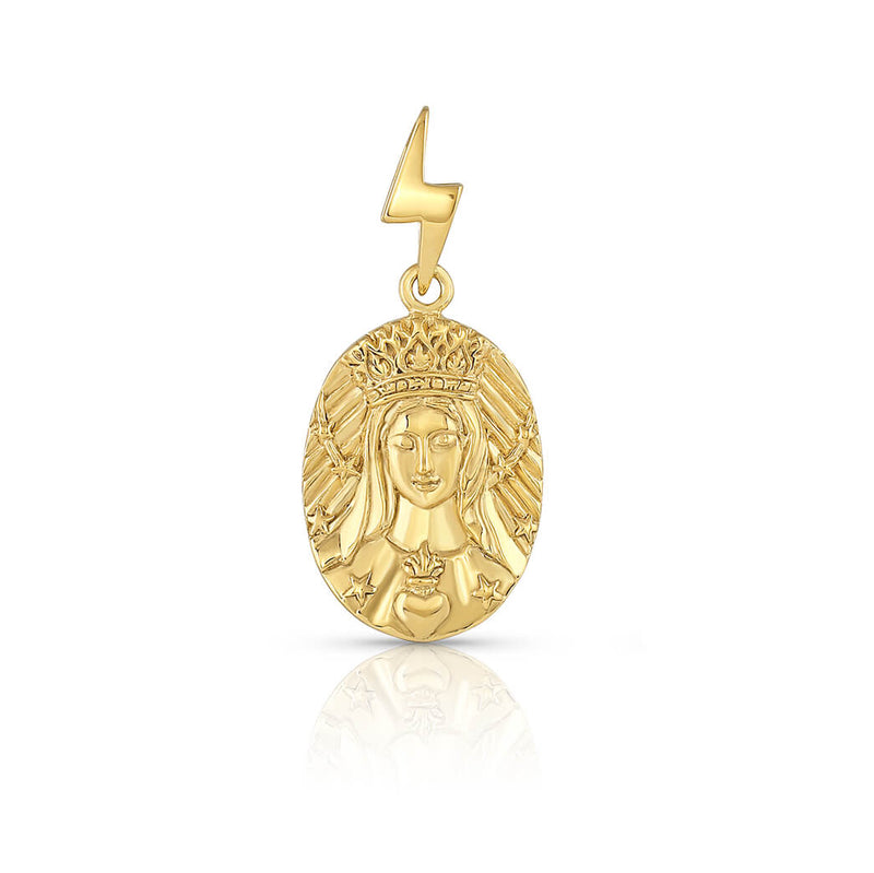 "Mother Mary ""She of a Thousand Roses"" Medallion"