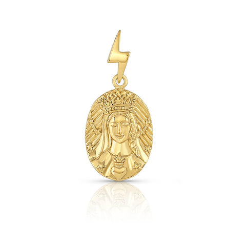 "Joan of Arc ""I Was Born For This"" Pendant"