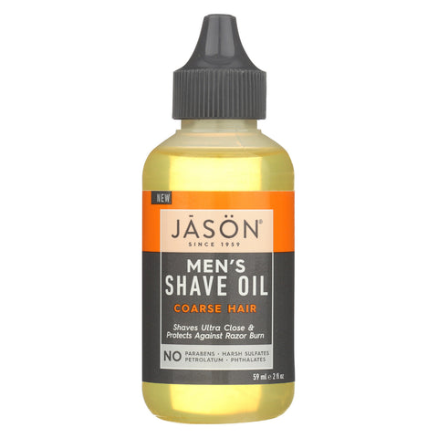 Jason Natural Products Shave Oil - Men's - Coarse - 2 fl oz