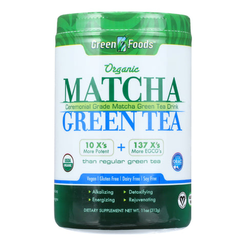 Green Foods Organic Matcha Green Tea - 11 oz