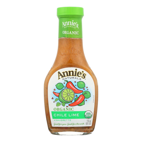 Annie's Naturals Vinaigrette Organic Chile Lime - Case of 6 - 8 fl oz.