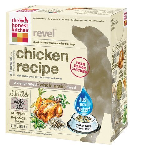The Honest Kitchen Revel - Whole Grain Chicken Dog Food - Case of 6 - 2 lb.