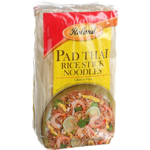 Roland Products Noodles - Rice Stick - Pad Thai - 14 oz (Pack of 3)