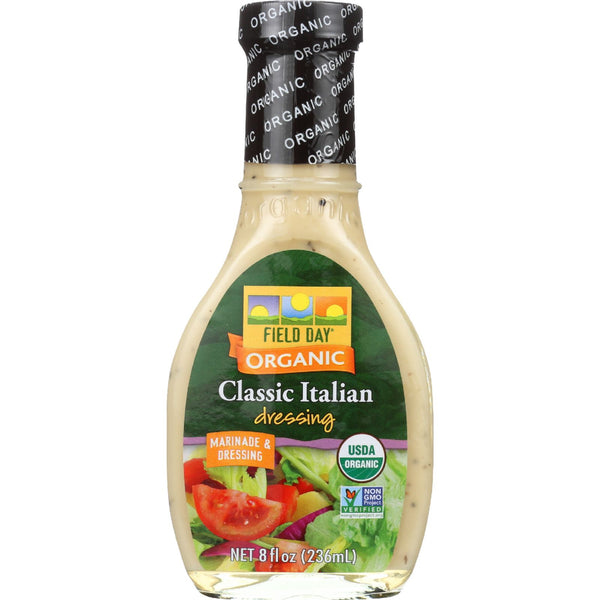 Field Day Dressing - Organic - Italian - 8 oz - case of 12