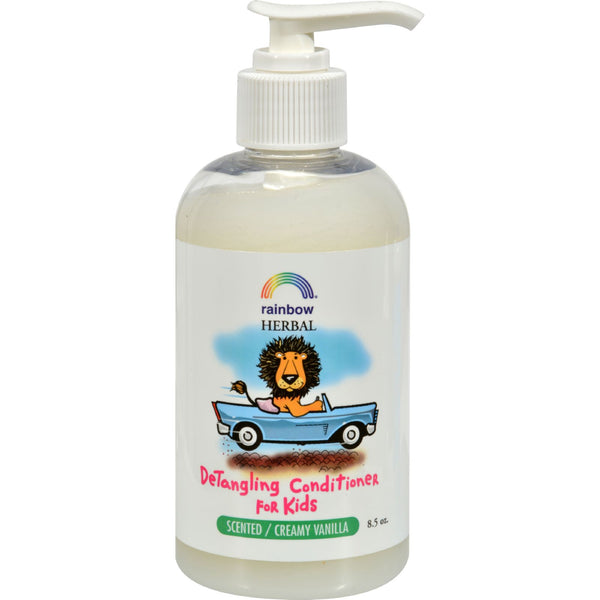 Rainbow Research Organic Herbal Detangling Conditioner For Kids Creamy Vanilla - 8.5 fl oz
