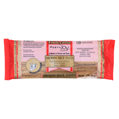 Tinkyada Brown Rice Pasta - Fettuccini - Case of 12 - 14 oz.
