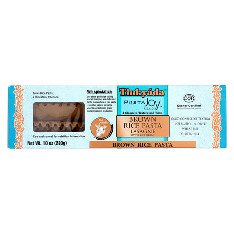 Tinkyada Brown Rice Pasta - Lasagna - Case of 12 - 10 oz.