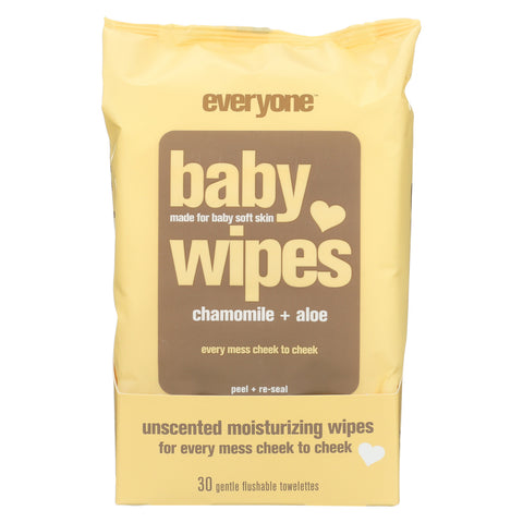 EO Baby Wipes - Unscented - 30 Count