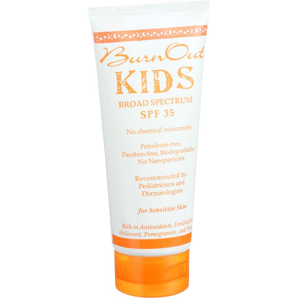Burn Out Physical Sunscreen - Kids - SPF 35 - 3.4 oz