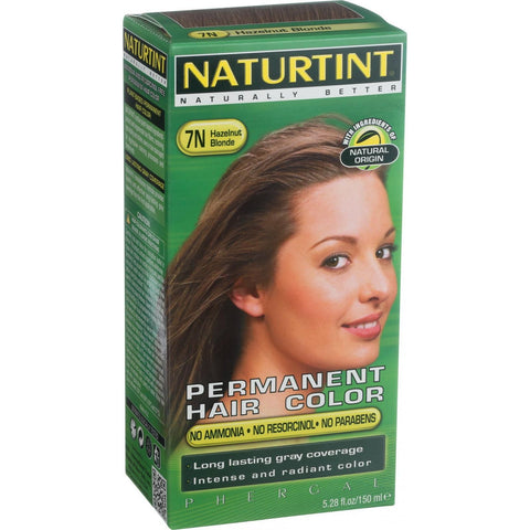 Naturtint Hair Color - Permanent - 7N - Hazelnut Blonde - 5.28 oz
