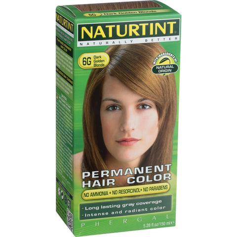 Naturtint Hair Color - Permanent - 6G - Dark Golden Blonde - 5.28 oz