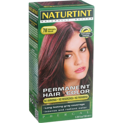 Naturtint Hair Color - Permanent - 7M - Mahogany Blonde - 5.28 oz