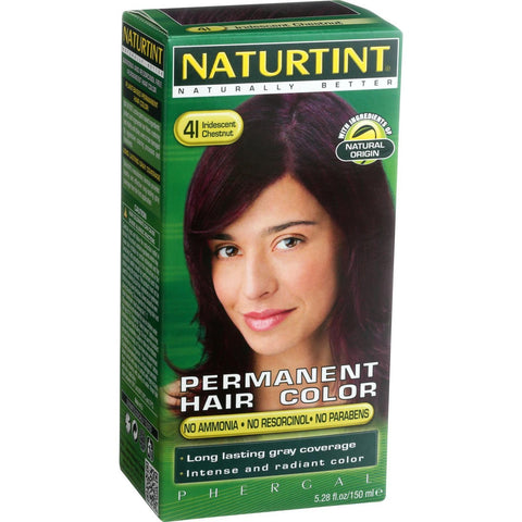 Naturtint Hair Color - Permanent - 4I - Iridescent Chestnut - 5.28 oz