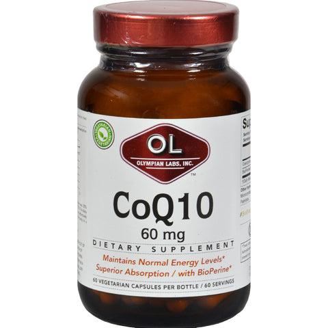 Olympian Labs Coenzyme Q10 - 60 mg - 60 Capsules