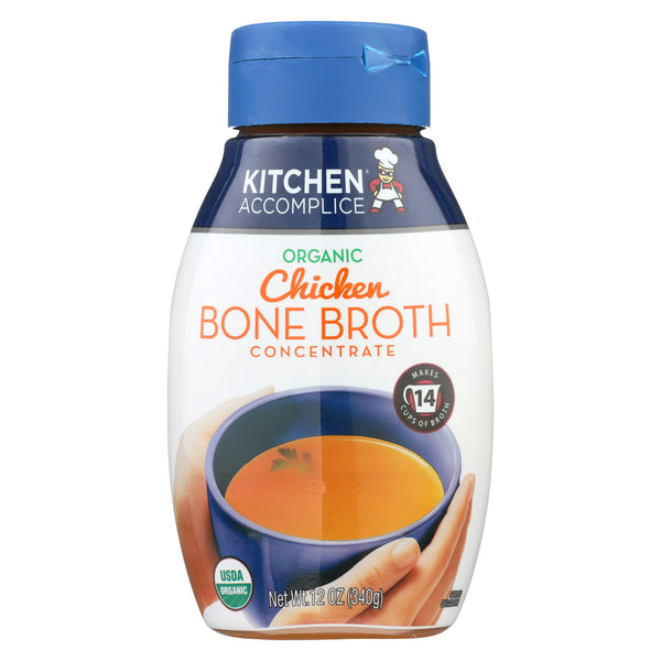 Kitchen Accomplice Bone Broth Concentrate - Chicken - Case of 6 - 12 fl oz