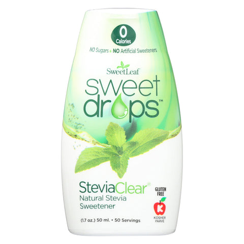 Sweet Leaf Sweet Drops - Stevia Clear - 1.7 oz