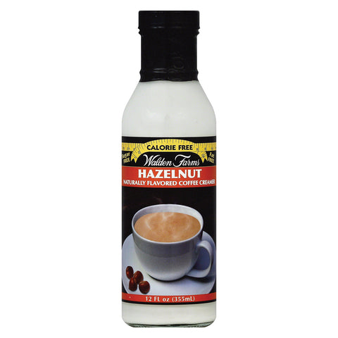 Walden Farms Coffee Creamer - Sugar Free Hazelnut - Case of 6 - 12 fl oz
