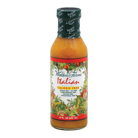 Walden Farms Dressing - Italian - Case of 6 - 12 fl oz