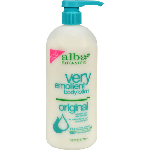 Alba Botanica Very Emollient Body Lotion Original - 32 fl oz