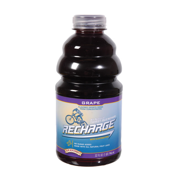 R.W. Knudsen Juice - Grape Recharge - Case of 12 - 32 Fl oz.