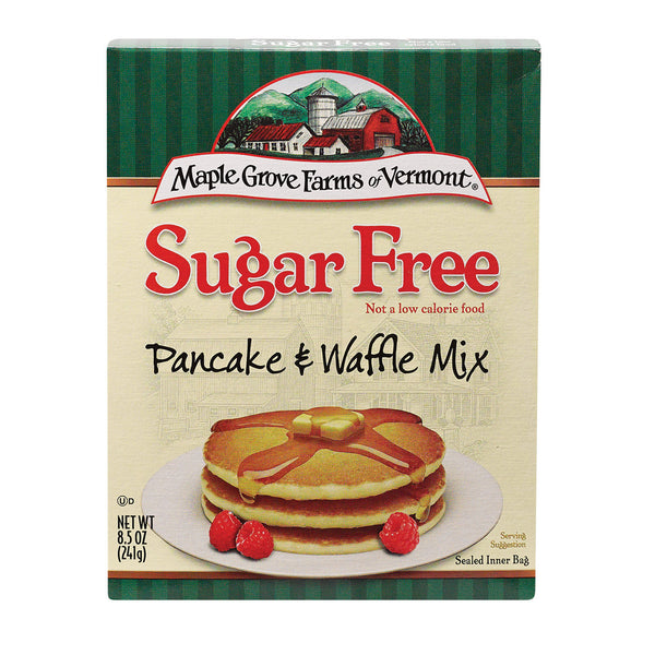 Maple Grove Farms Pancake and Waffle Mix - Case of 8 - 8.5 oz.