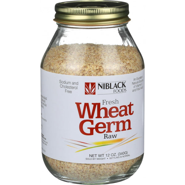 Niblack Wheat Germ - Raw - 12 oz (Pack of 3)