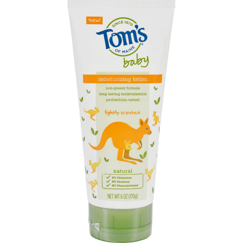 Toms of Maine Lotion - Baby - Moisturizing - Lightly Scented - 6 oz