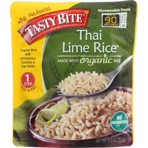 Tasty Bite Rice - Thai Lime - 8.8 oz - case of 6