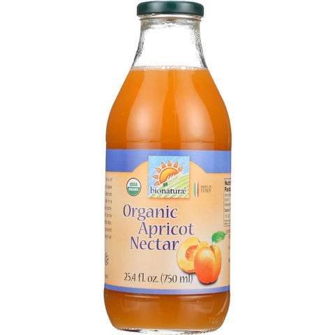 Bionaturae Fruit Nectar - Orangic - Apricot - 25.4 oz - case of 6