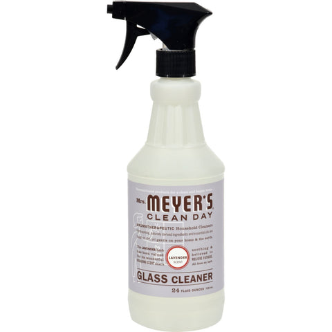 Mrs. Meyer's Glass Cleaner - Lavender - Case of 6 - 24 oz