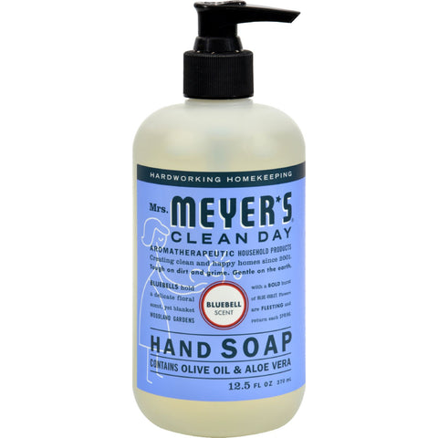 Mrs. Meyer's Liquid Hand Soap - Bluebell - Case of 6 - 12.5 oz