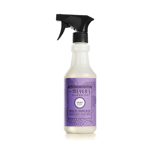 Mrs.Meyers Clean Day Multi-Surface Everyday Cleaner - Lilac - Case of 6 - 16 fl oz
