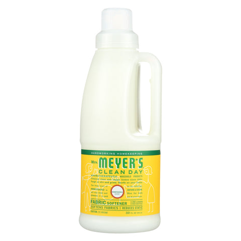 Mrs. Meyers Clean Day Fabric Softener - Honey - Case of 6 - 32 Fl oz.