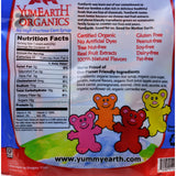 Yummy Earth Gummy Bears - Organic - 10 Snack Packs - .7 oz (Pack of 3)