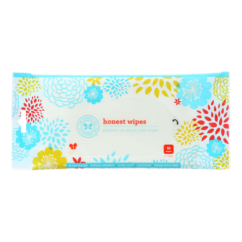 The Honest Company Honest Wipes - Unscented - Baby - Travel Pack - 10 Wipes