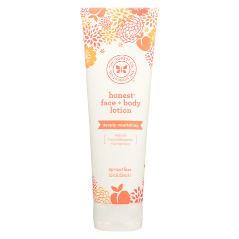 The Honest Company Face and Body Nourishing Lotion - Apricot Kiss - 8.5 Fl oz.