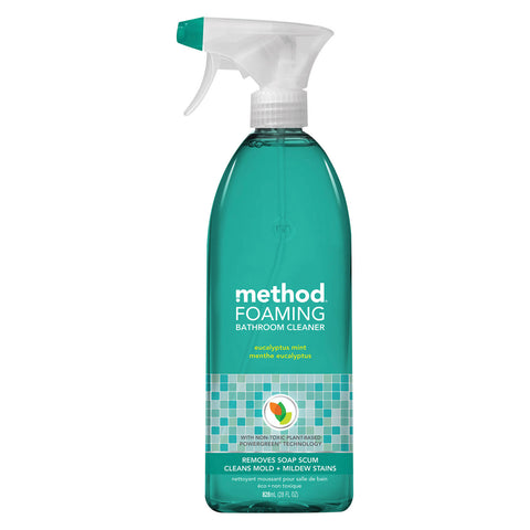 Method Products Inc Foaming Cleaner - Bathroom - Case of 8 - 28 fl oz