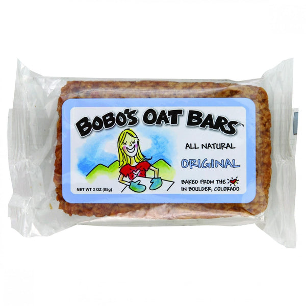 Bobo's Oat Bars - All Natural - Original - 3 oz Bars - Case of 12
