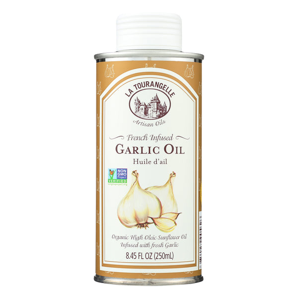 La Tourangelle French Infused Garlic Oil - Case of 6 - 8.45 Fl oz.