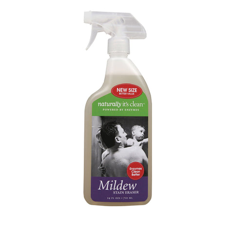 Naturally Clean Cleaner - Mildew Spray - Case of 6 - 24 fl oz