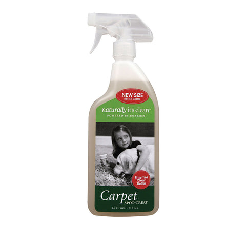 Naturally Clean Carpet Spot - Treat Cleaner - Case of 6 - 24 Fl oz.