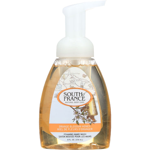 South Of France Hand Soap - Foaming - Orange Blossom Honey - 8 oz - 1 each
