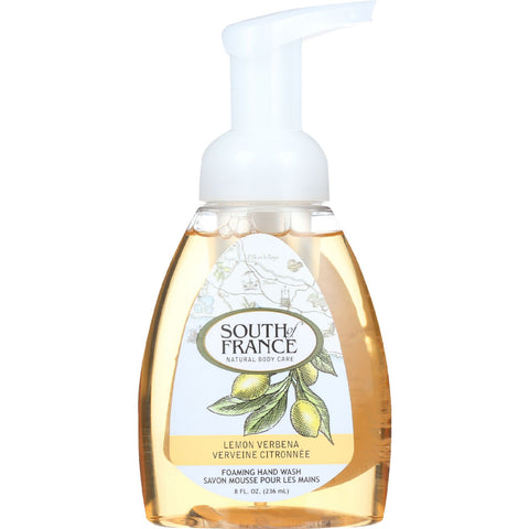 South Of France Hand Soap - Foaming - Lemon Verbena - 8 oz - 1 each