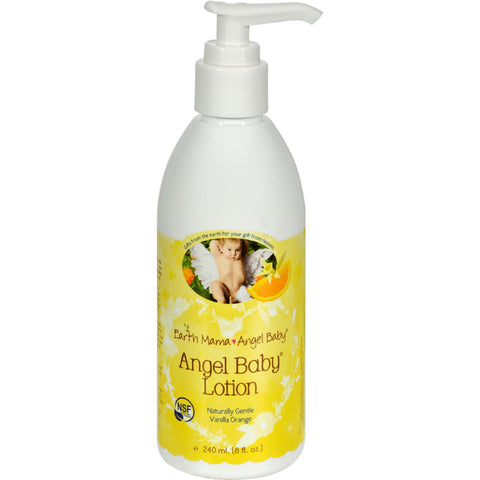 Earth Mama Angel Baby Lotion Vanilla Orange - 8 fl oz